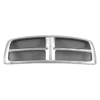 Replace® - Grille (Chrome, with With Painted Honeycomb Inserts)