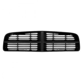 Replace® - Grille (Matte-Black, with With Painted Gray Frame)