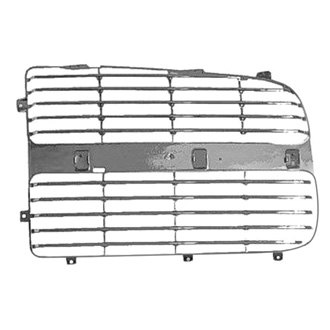 Replace® - Left Grille (Chrome)