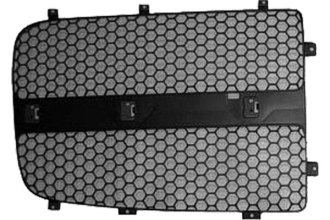 Replace® CH1201108 - Left Grille, Filler Panel (Black)