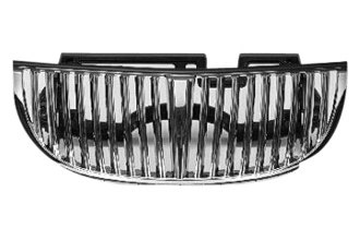 Replace® FO1200348 - Grille (Chrome Frame with Argent Vertical Bars, Replacement Design)