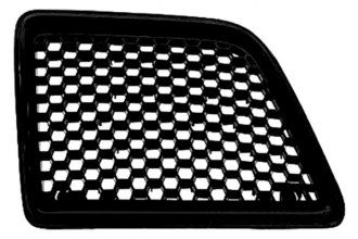 Replace® GM1200234PP - Right Grille (Gloss Black)