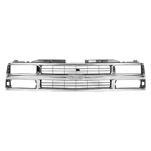 Replace® - Grille (Chrome/Silver)