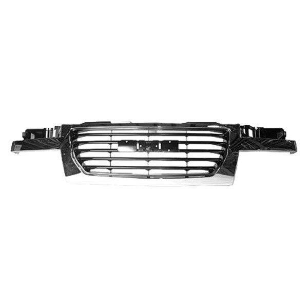 Replace® - Grille (Chrome, with With Black Center)