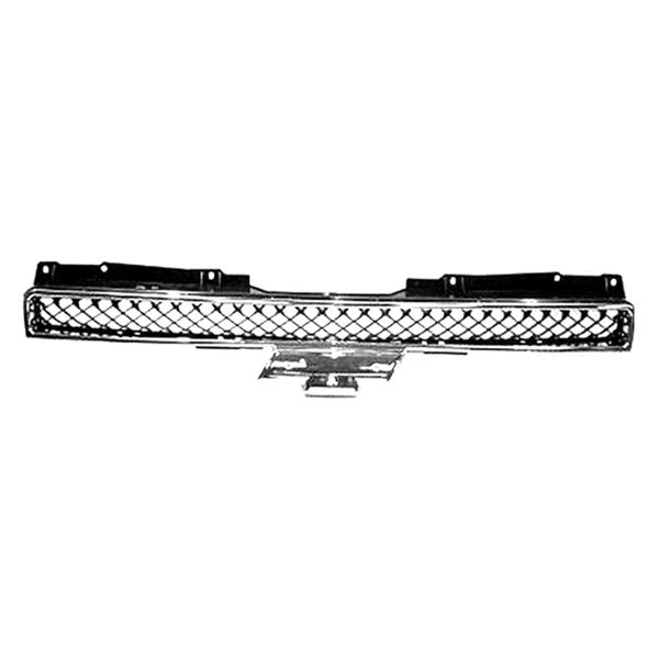 Replace® - Upper Grille (Chrome/Black)