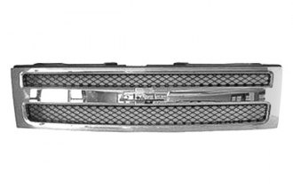 Replace® GM1200572 - Grille (Chrome)