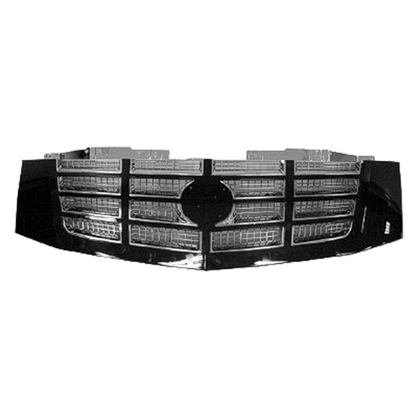 Replace® - Grille (Chrome, with With Black Frame)