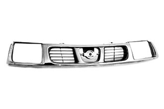 Replace® NI1200183PP - Grille (Chrome/Gray)