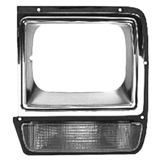 Replace® - Driver Side Headlight Bezel