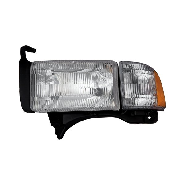 Dodge Replacement Headlights: Dodge Ram 1500 / 2500 / 3500 1995-1998