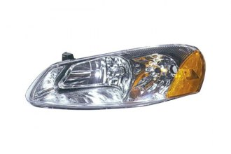 Replace® CH2502128V - Driver Side Replacement Headlight (With 2 Adjusters On Back Side)