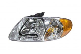 Replace® CH2502129 - Driver Side Replacement Headlight Lens Housing