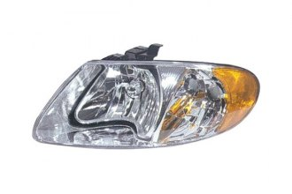 Replace® CH2502129C - Driver Side Replacement Headlight Lens Housing