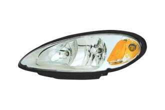 Replace® CH2502131V - Driver Side Replacement Headlight