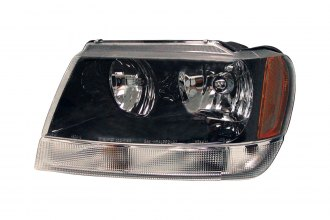 Replace® CH2502138 - Driver Side Replacement Headlight