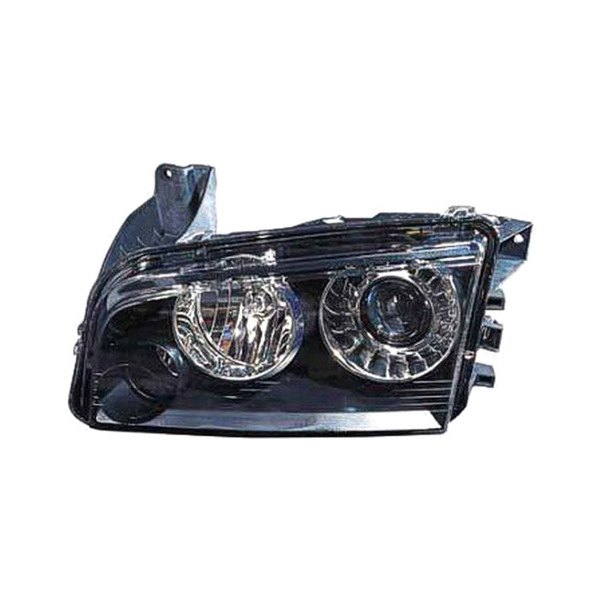 Dodge Replacement Headlights: Dodge Charger 2009-2010 Replacement Headlight