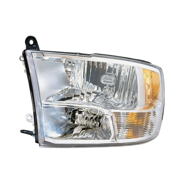 replace ram 2500 with factory quad lamp headlights. Black Bedroom Furniture Sets. Home Design Ideas