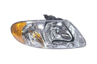 Replace® CH2503129V - Passenger Side Replacement Headlight Lens Housing