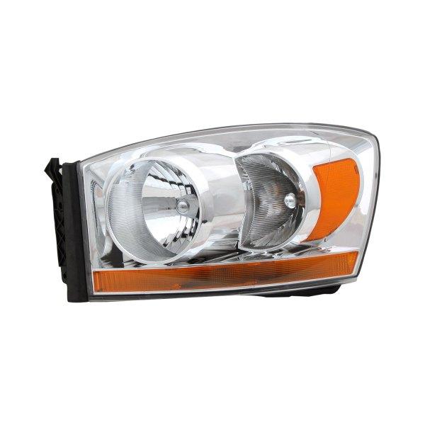 Dodge Replacement Headlights: Dodge Ram 1500 / 2500 / 3500 2006 Replacement