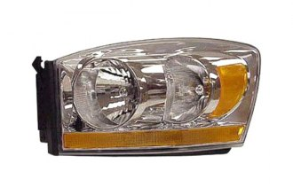 Replace® CH2518114V - Driver Side Replacement Headlight Lens Housing