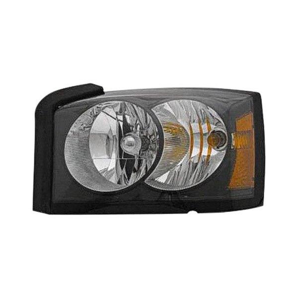 Dodge Replacement Headlights: Dodge Dakota 2006-2007 Replacement Headlight
