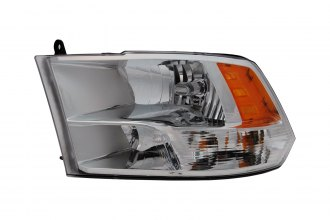 Replace® CH2518135 - Driver Side Replacement Headlight Lens Housing