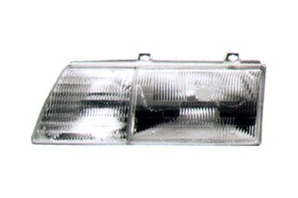 Replace® - Driver Side Replacement Sealed Beam Headlight
