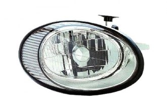Replace® FO2503138V - Passenger Side Replacement Headlight