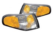 Replace® - Chrome Diamond Cut Turn Signal / Parking Lights
