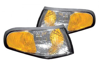 Replace® - Chrome Diamond-Cut Turn Signal / Parking Lights