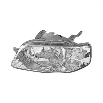 Replace® - Driver Side Replacement Headlight Lens and Housing (Remanufactured OE)