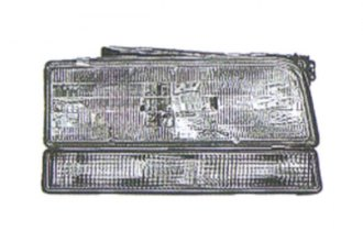 Replace® GM2503129 - Passenger Side Replacement Headlight