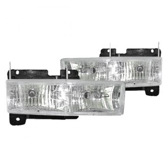 Replace® - Diamond-Cut Chrome Euro Headlights