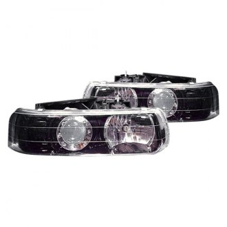 Replace® - Black Projector Headlights