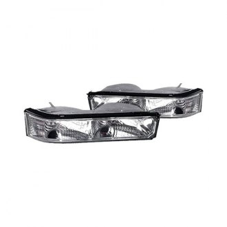 Replace® - Diamond Cut Chrome Turn Signal / Parking Lights