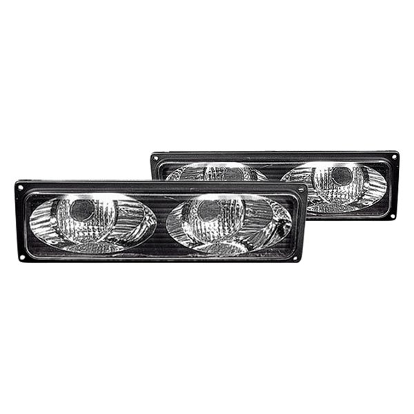 Replace® - Chrome Twin Eyes Type Parking Lights