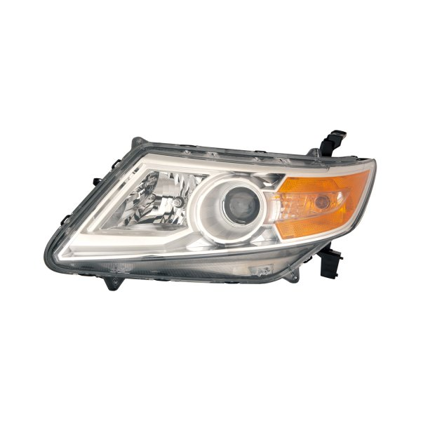 Replace Honda Odyssey With Factory Halogen Headlights 2011 2013 Replacement Headlight