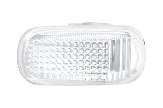 Replace® - Driver or Passenger Side Replacement Repeater Lamp Lens and Housing