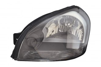 Replace® HY2502133 - Driver Side Replacement Headlight