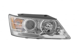 Replace® HY2503148 - Passenger Side Replacement Headlight