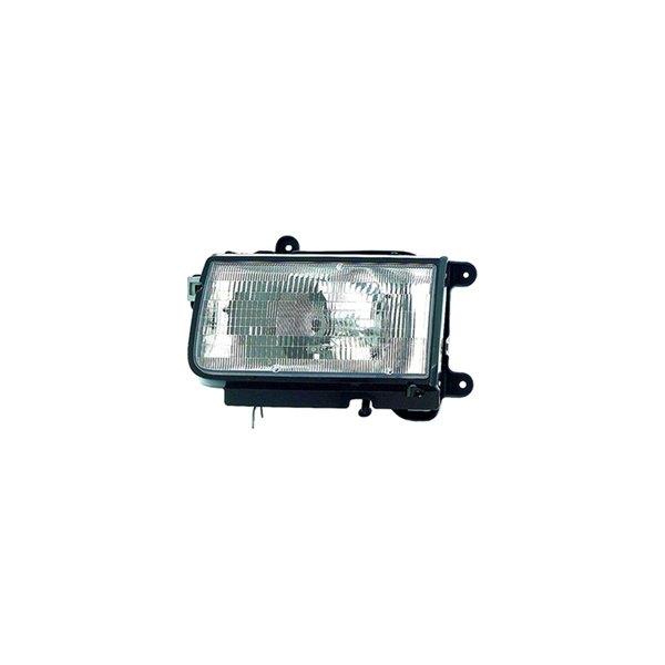 Replace 174 Isuzu Rodeo 1998 1999 Replacement Headlight