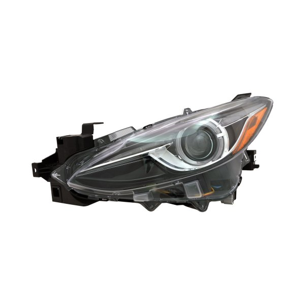 Car Headlights Replacement : Replace mazda hatchback sedan without auto leveling