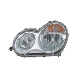 2006 Mercedes C Class Custom Amp Factory Headlights Carid Com