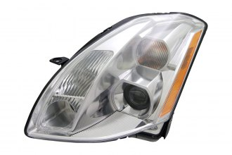 Replace® NI2502150 - Driver Side Replacement Headlight