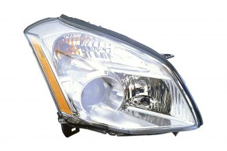 Replace® NI2503197 - Passenger Side Replacement Headlight