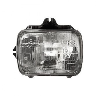"Replace® - Replacement 7x6"" Rectangular Chrome Sealed Beam Headlight"