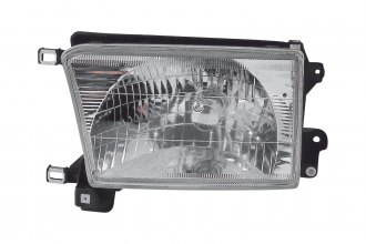 Replace® TO2502128 - Driver Side Replacement Headlight