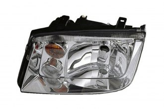 Replace® VW2502125 - Driver Side Replacement Headlight
