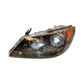 Acura RL Custom Factory Headlights CARiDcom - 2006 acura rl headlight replacement
