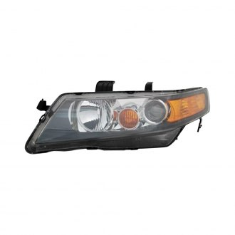 Acura TSX Custom Factory Headlights CARiDcom - 2006 acura tsx headlights